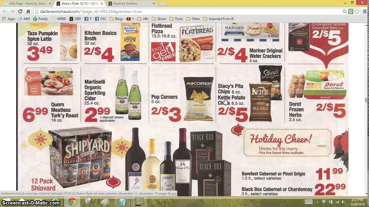 Shaw's Flyer for 11/12 - 11/18