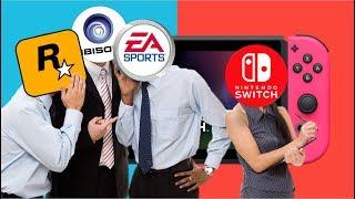 Qué Detiene a los Estudios de Desarrollar Juegos Para el Nintendo Switch?