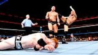 WWE Cm Punk vs. Randy orton vs. Big show vs. Sheamus Highlights - Old School Raw [HD]