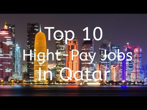 TOP 10 HIGHEST SALARY JOBS IN QATAR 2019