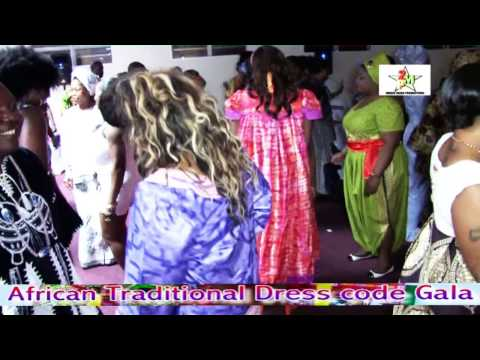 AFRICAN TRADITIONAL DRESS CODE GALA London 2014 1st ed.   Video officielle HD