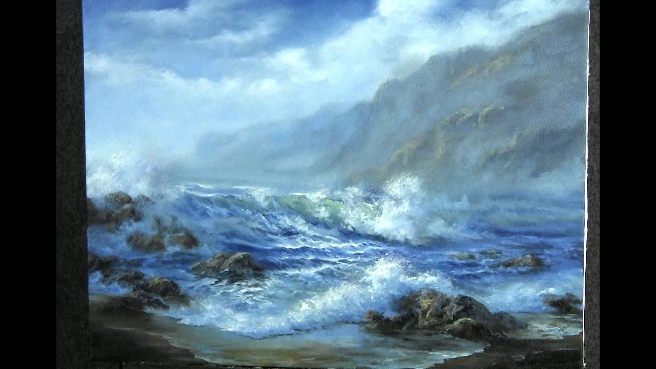 Oil Painting Windy Seascape Paint With Kevin Hill