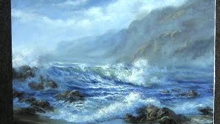 Oil Painting - Windy Seascape - Paint with Kevin Hill