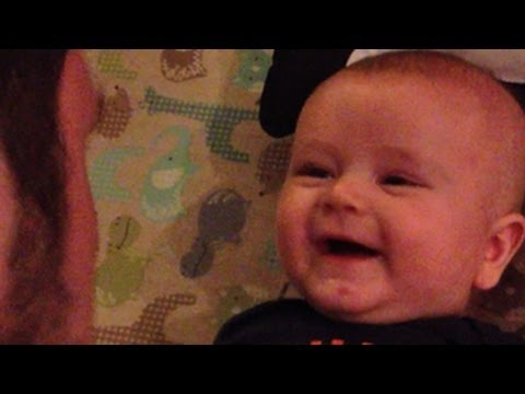 Baby Jack Farts in Dad's Face