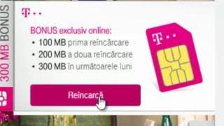 Reincarcare Online SIM Telekom Romania
