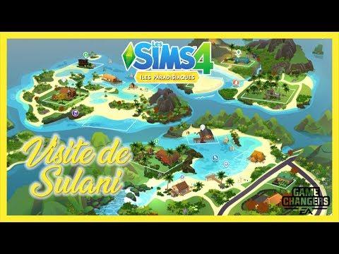 🌴 VISITE DE SULANI ▪ ILES PARADISIAQUES ▪ Les Sims 4 ▪