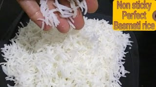 How to boil rice | Tips To make perfect non sticky basmati rice | rice for biryani