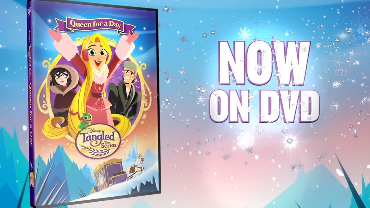 queen for a day dvd trailer tangled the series disney channel youtube. Black Bedroom Furniture Sets. Home Design Ideas