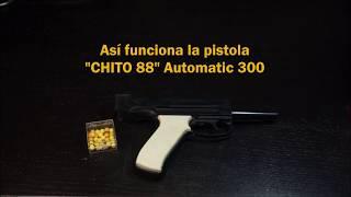 Pistola de Juguete Chito 88 AUTOMATIC 300 de Ruymhere