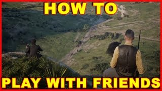 Red Dead Online: How to Play With Friends & Invite Them to Posse