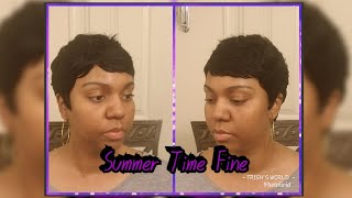 Outre Duby Wig 100% Human Hair   Pixie   Short & Sexy   Summer Time Fine #2 ☀️