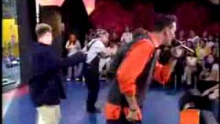 N Sync - Tearin Up My Heart  (Live  MTV TRL 1998.)