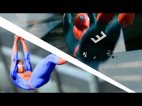 Spider - Man PS4 Recreating Spider-Man 3 Opening Montage scene