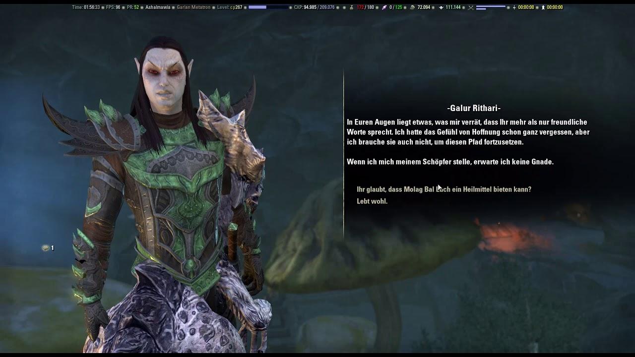 Elder Scrolls Online Morrowind 015 Daedrische Störungen