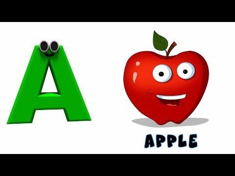 Phonics Letter- A song Kids Tv Nursery Rhymes S01EP140