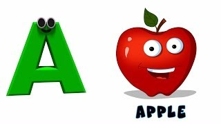 Phonics Letter | Learning Alphabet A | Nursery Rhymes For Toddlers By Kids Tv