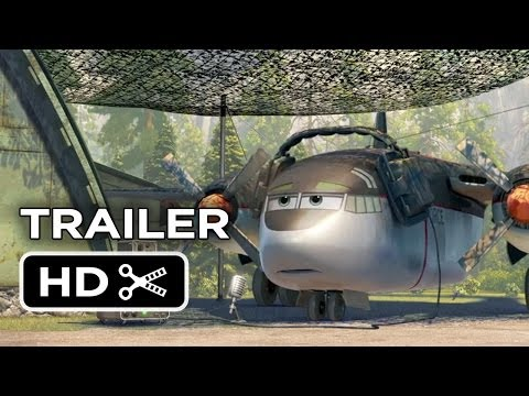 "Planes: Fire & Rescue Official ""Thunder"" Trailer (2014) - Disney Animation Sequel HD"