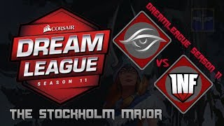 [Streamed] Team Secret vs Infamous / Bo3 / DreamLeague Season 11 Stockholm Major  / Dota 2 Live