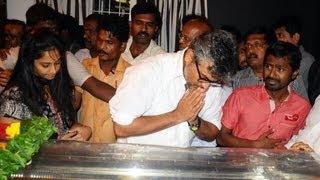 Ajith, Vairamuthu, Shankar and more Celebrities condolences to Kavingar Vaali Death   Funeral