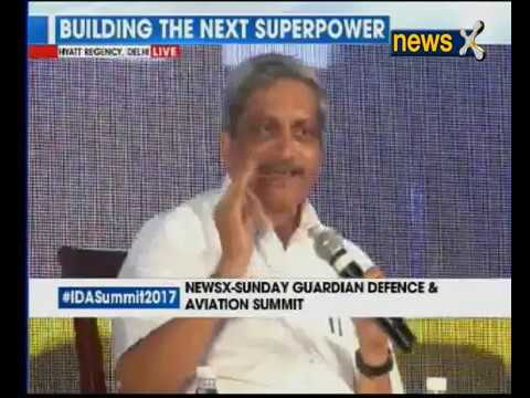 IDA Summit 2017: Defence Minister Manohar Parrikar speaks at Indian Defence and Aerospace Summit