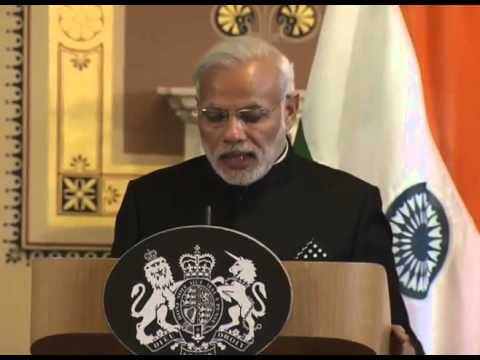 PM in UK: Joint Press Conference