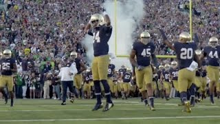Notre dame football 2015-16 pump up