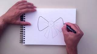How to Draw Bow Tie