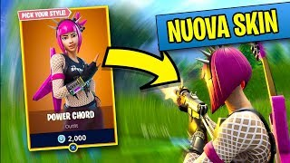 REAL VITTORY with POWER ACCORD (New Legendary Skin) on FORTNITE