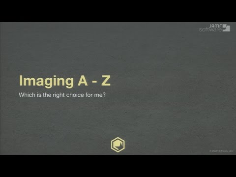 JNUC 2015 | Imaging from A to Z: Which is the Right Choice For Me?