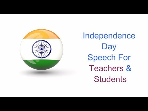 independence day speech in english  independence day essay   youtube independence day speech in english  independence day essay