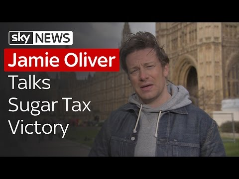 Jamie Oliver Talks The Sugar Tax
