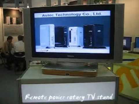Remote Auto Rotary TV Stand