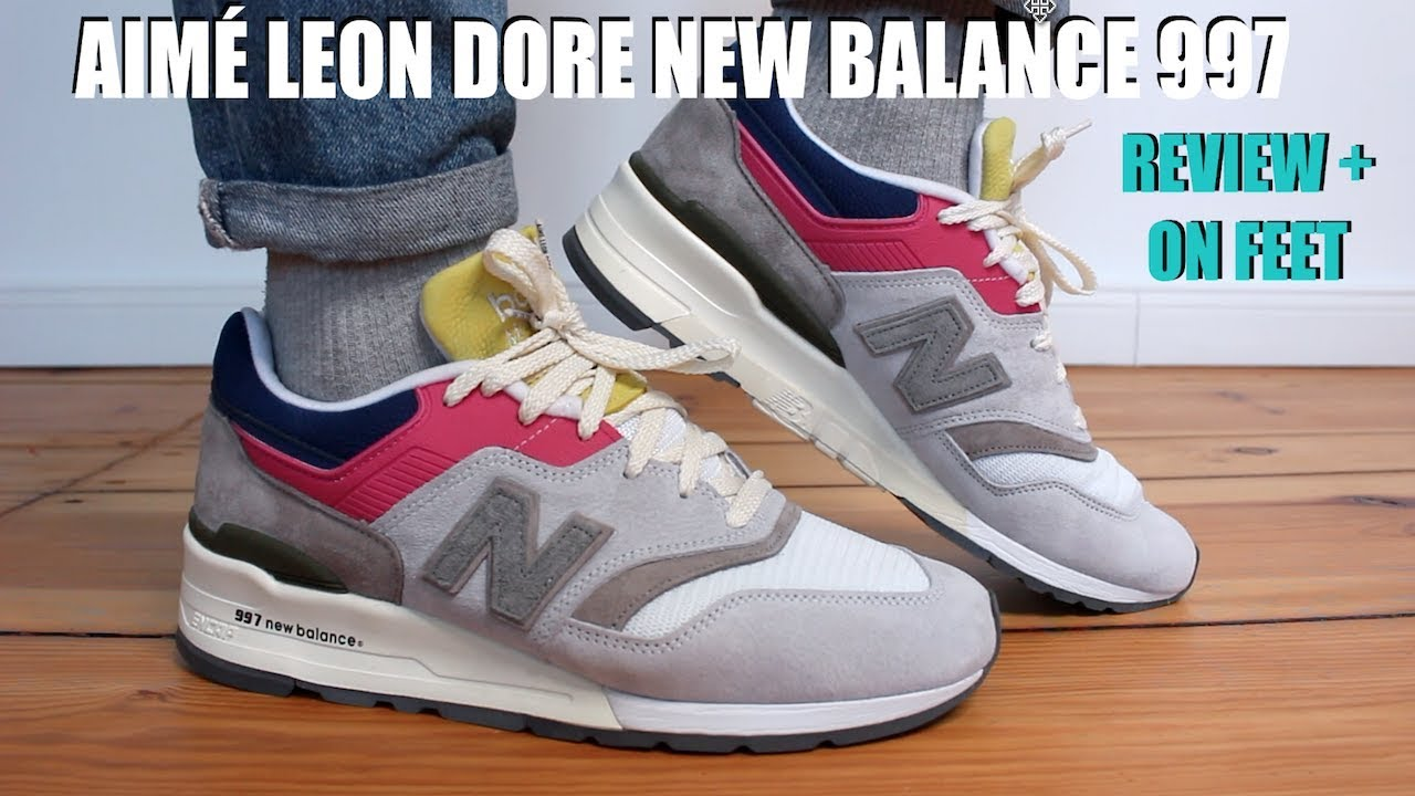 eaeee9b8 AIME LEON DORE NEW BALANCE 997 REVIEW + ON FEET....BEST COLLAB OF 2019