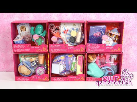 New Our Generation Accessories Sets for American Girl Doll Room