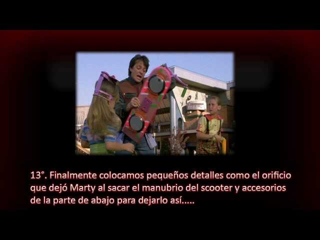 Finger (Skate) Hover Board de Volver al Futuro (Back to the Future) Videos De Viajes