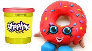 New SHOPKINS Play doh Claymation D