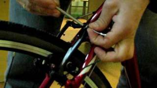 3.Настройка тормозов V-Brake(Уроки по настройке велосипеда от велоклуба