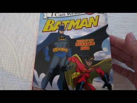 Batman Dawn of the Dynamic Duo read aloud children story book I can Read series