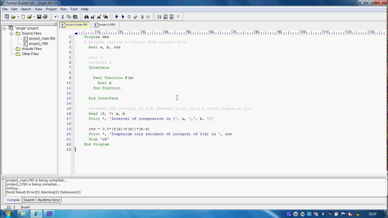 fortran 77 write append python