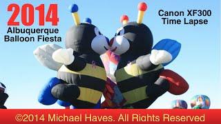 2014 Albuquerque Balloon Fiesta TIme Lapse (Canon XF300)