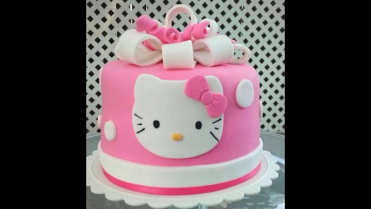 Hello Kitty Cake Ultah Hello Kitty Fondant