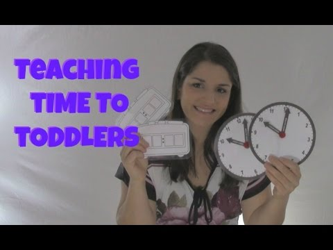 Teaching Time To Toddlers
