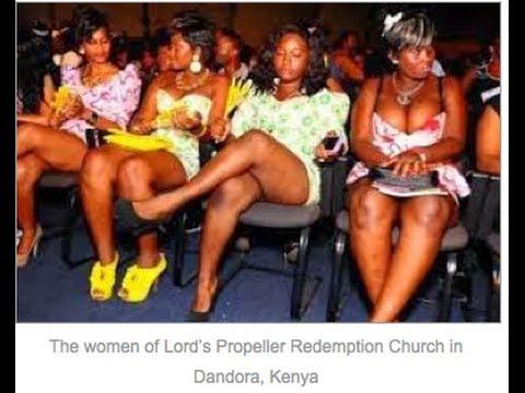 Pastor Orders Women To Take Off Panties Bras In Church