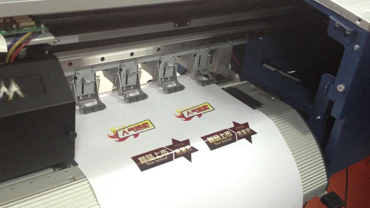 Stickers Printer And Cutting YouTube - Car decal maker machine