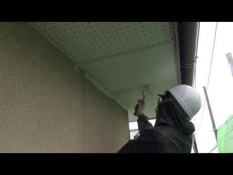 軒天塗装 3