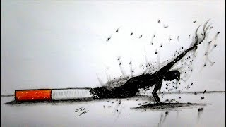 رسم سهل بالرصاص سلسلة الرسوم التعبيرية #28