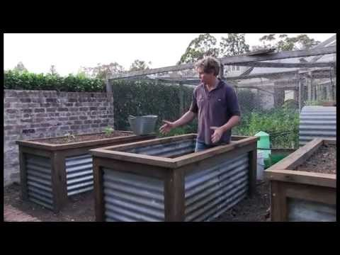 Image Result For Galvanized Steel Garden Beds