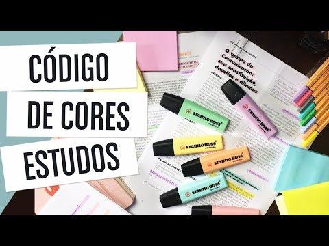 ESTUDOS: CÓDIGO DE CORES - Study Color Code Mp3
