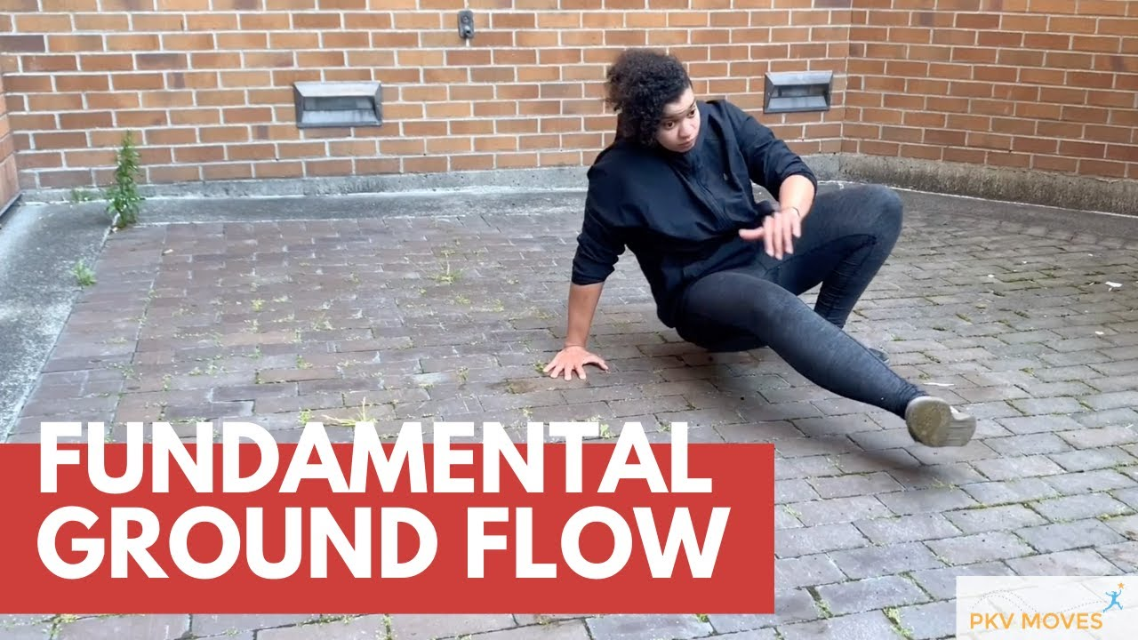 Fundamental Ground Flow with Brandee Laird   ParkourVisions.org