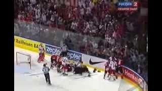 Смотреть всем! Драка Канада   Чехия  Хоккей